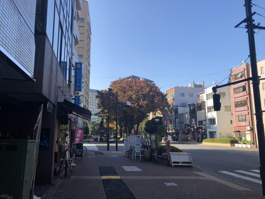 ロゼ早稲田ビルのエントランス